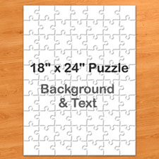 Personalized Message Portrait Puzzle 18