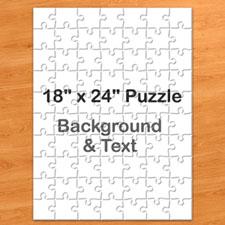 Personalized Message Portrait Puzzle 18