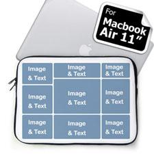 Nine Collage MacBook Air 11 Sleeve