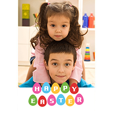 Easter Fun 3D Photo Card