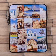 Twenty-One Collage iPad Sleeve for Facebook Photos