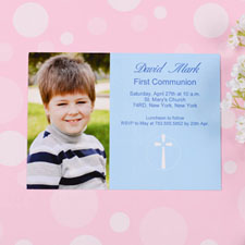 Holy Date - Ocean Communication Photo Invitation