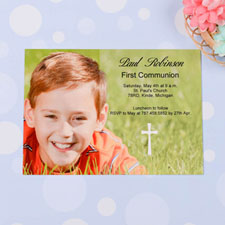 Holy Date - Communication Photo Invitation