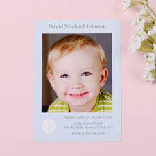 Shining Day – Boy Communication Photo Invitation