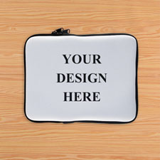 Print Your Design 1-Side iPad Sleeve, Landscape
