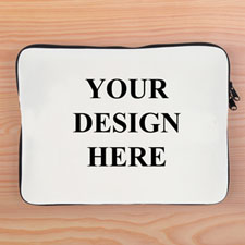 """Print Your Design 1-Side 9""""x11.25"""" Laptop Sleeve"""