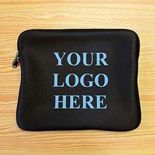 """Custom 1-Side Printed 9""""x11.25"""" Laptop Sleeve"""