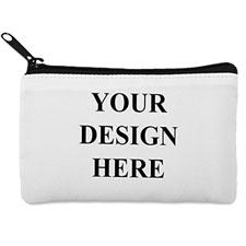 Custom Full Color Print Medium (2 Side Same Image) Makeup Bag (5 X 8 Inch)