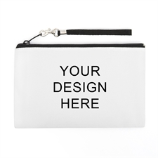 "Print Your Design 5""x8"" Wristlet Clutch (2 Sides Same Image)"