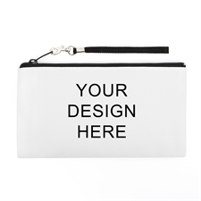 Personalized Custom Full Color Print 5.5X10 (2 Side Same Image) Clutch Bag (5.5X10 Inch)
