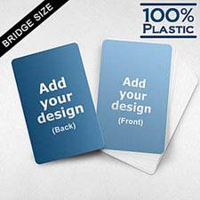 Bridge Size Custom Cards (Blank Cards)