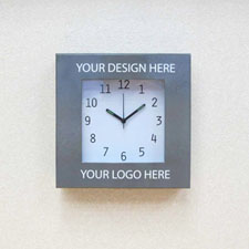 Custom Printed Your Design & Logo Wall Clock