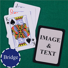 Bridge Size Standard Index Black Border