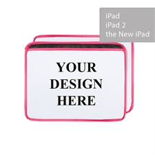 Personalized Ultra-plush Padded iPad Sleeve, Landscape