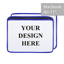 Personalized Ultra-plush Padded MacBook Air 11 Sleeve, Landscape