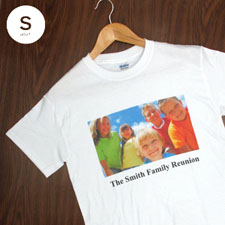 Cotton White Image & Text Adult Small