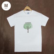 Custom Gildan 100% Cotton (White – Mini Portrait), Adult Medium