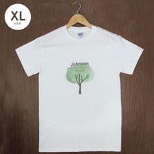 Custom Gildan 100% Cotton (White – Mini Portrait), Adult X-Large