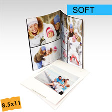 8.5x11 Portrait Custom Soft Cover