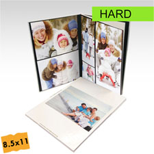 8.5x11 Portrait Custom Hard Cover