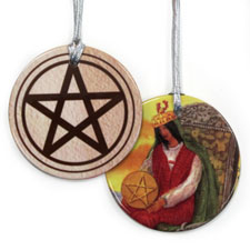 Custom Tarot Ornament Gifts