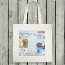 Nine Collage Budget Tote Canvas Bag