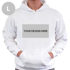 Gildan Custom Landscape Image & Text White Large Size