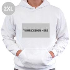 Personalized 2XL Landscape Image & Text Hoodies