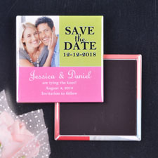 Tropical Wedding Save the Date