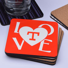 LOVE Personalized Words (One Coaster)