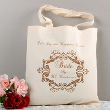 Swirly Script Bridesmaid Personalized Gift