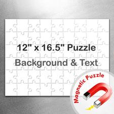 Large Magnetic Landscape Message Jigsaw Puzzle