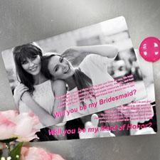 Personalized Wedding Photo Magnets