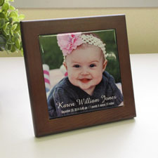 Custom Photo Wood Framed Ceramic Tile
