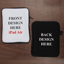 Print Your Design Artwork iPad Air (Portrait) Both Sides