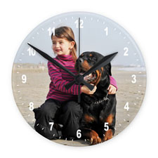 Photo Gallery Frameless Wall Clock