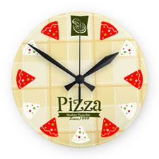 Custom Imprint Design Logo Frameless Wall Clock