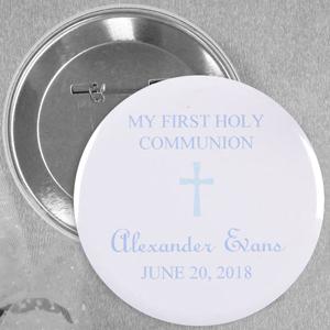 Popular Christening Magnet with Blue Cross
