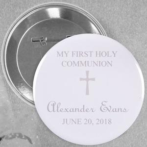 Popular Christening Magnet with Elegant Cross