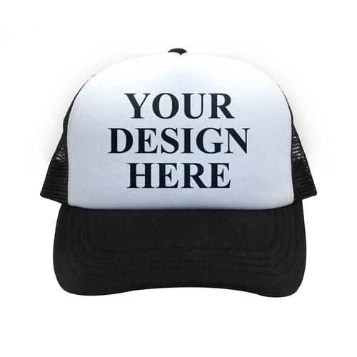 Custom Black Trucker Hat