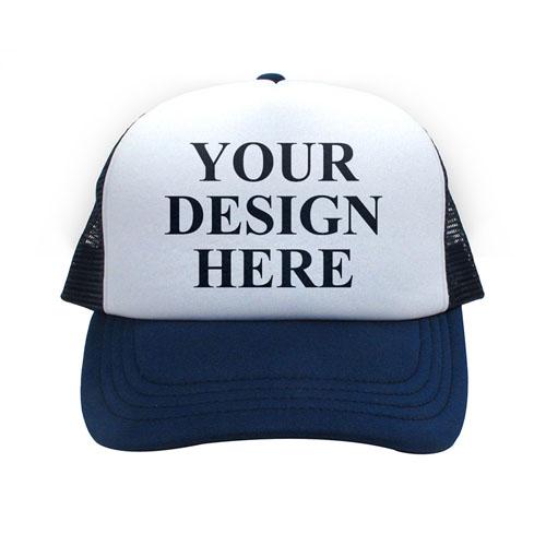 Custom Navy Trucker Hat