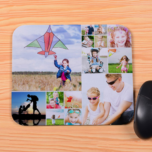 Personalized 14 Collage Mouse Pad
