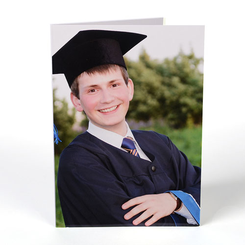 Full Photo Graduation Announcement, Portrait