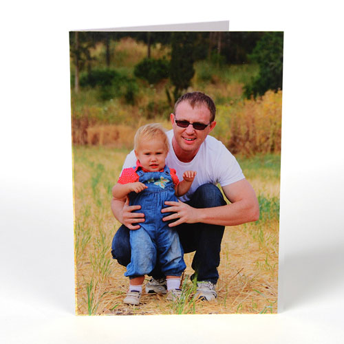 Portrait Photo Father's Day Card
