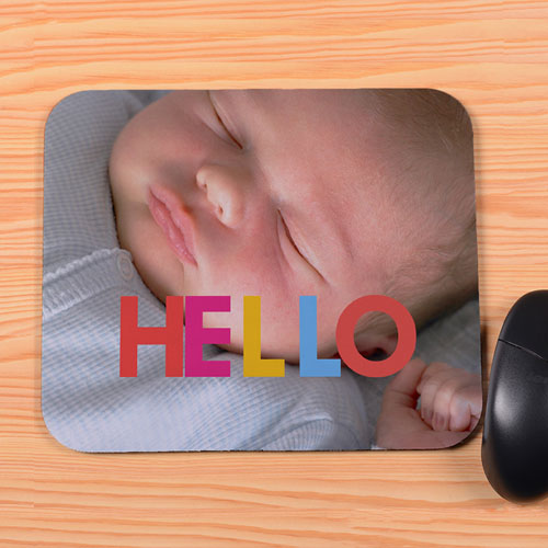Create Your Own Hello Mouse Pad