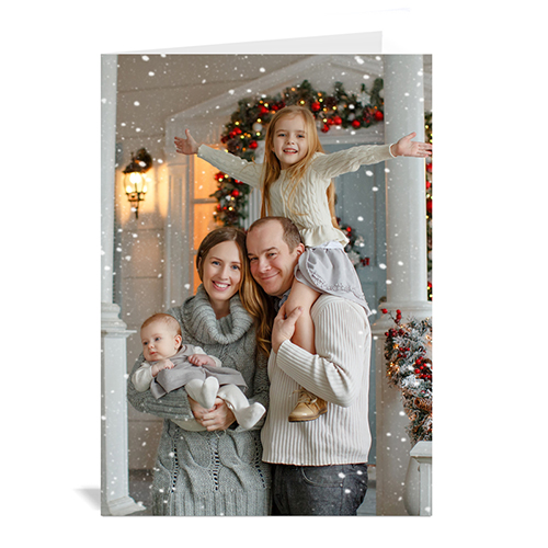 Christmas Picture in Portrait