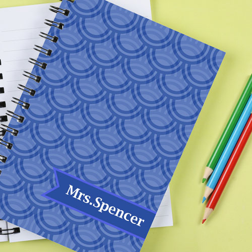 Scallop Personalized Notebook