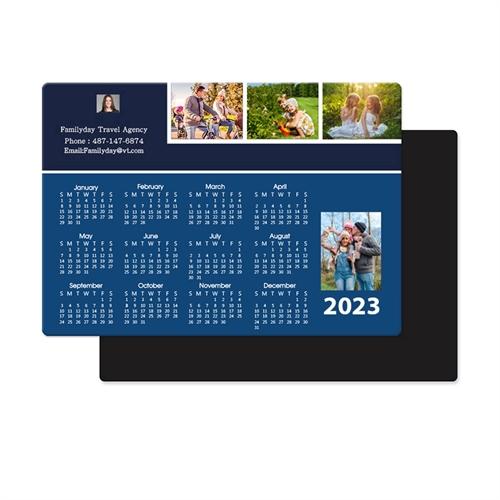 2020 Four Collage Photo Magnet Calendar 3.5