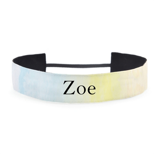 Watercolor Customizable 1.5 Inch Headband