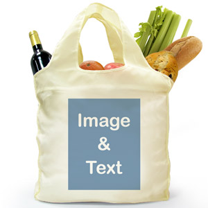Reusable Shopping Bag, Portrait Image